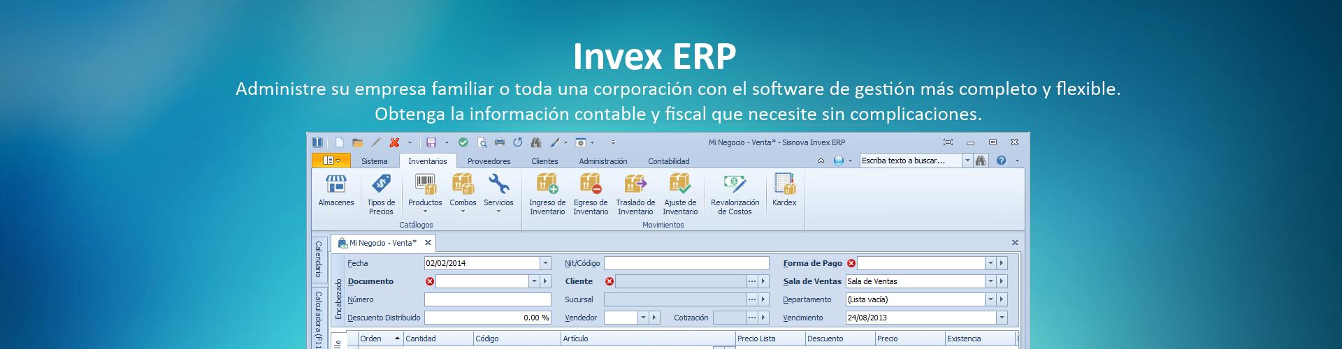 Invex ERP